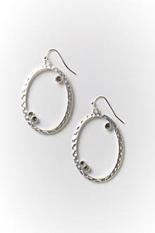 Dewdrop Wrought Hoops