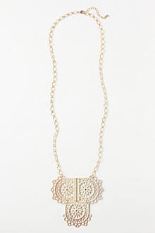 Lace Flag Necklace