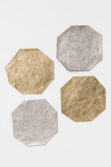 Leather Theorem Coasters
