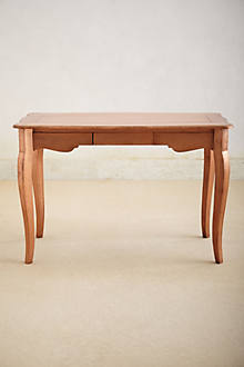 Copper-Toned Writing Desk