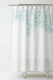 Looped & Knotted Shower Curtain