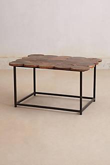 Wood Circles Coffee Table