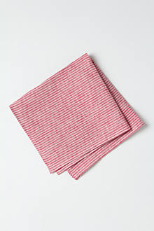 Crimson Stripe Napkin