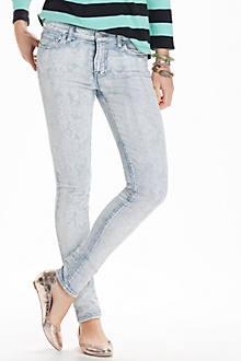 J Brand Bandana Skinny Jeans