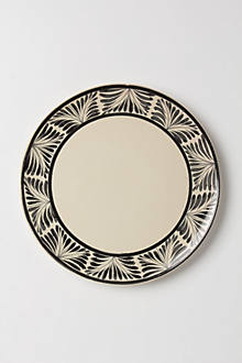 Handpainted Tori Dinner Plate