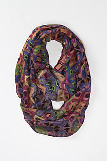 Shaped Geometry Scarf