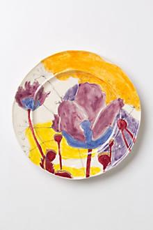 Palette-Sketch Dinner Plate