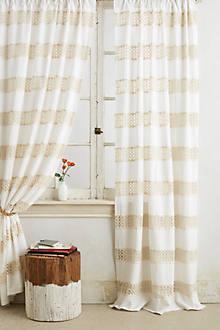 Crochet Spliced Curtain