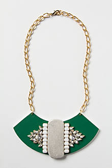 Noetic Snowfall Bib Necklace