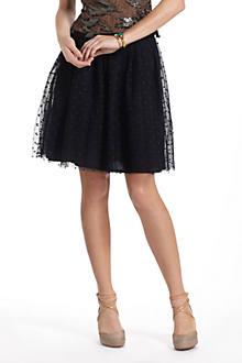 Pique Tulle Skirt