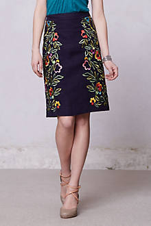 Clematis Pencil Skirt
