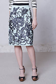 Lace Fable Pencil Skirt