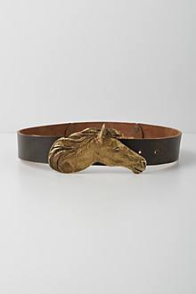 Stallion Silhouette Belt