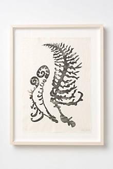 Fern Print Print