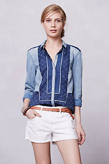 Patchwork Chambray Buttondown