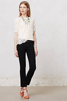 MiH Paris Slim Crop Jeans