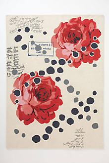 Rose-Scroll Rug