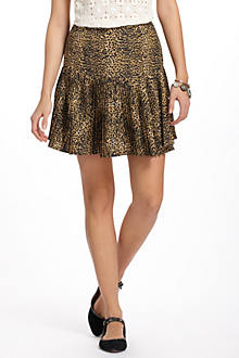 Cheetah Dropwaist Skirt