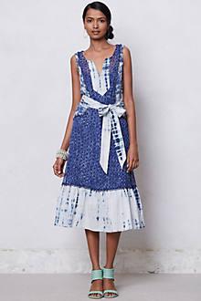 Shibori Patchwork Dress