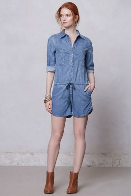 Holding Horses Chambray Romper