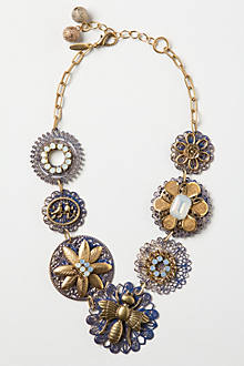 Filigree Pollination Necklace