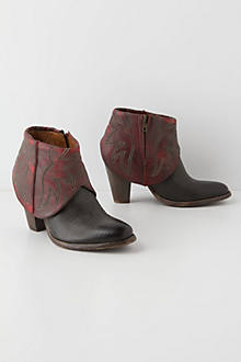 Slouched Rojo Cowboy Boots