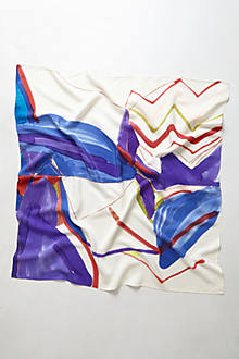 Unleashed Brushstrokes Scarf
