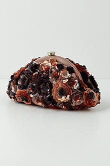 Blossomed Paillette Purse