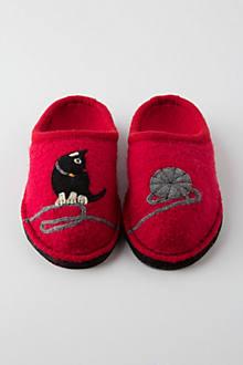 Katze Wool Slippers