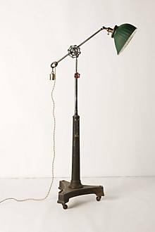 X-Ray Glass-Shade Lamp