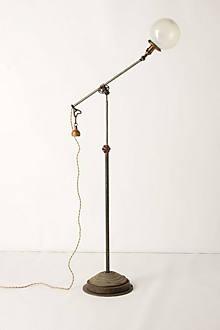 Opalescent Globe Lamp