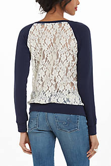 Astern Lace Sweatshirt
