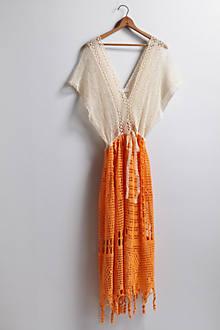 Handcrocheted Grecian Dress