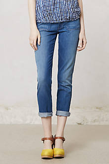 Mother Patchie Cropped Jeans