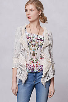 Salt & Pepper Fringe Cardigan