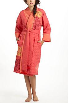 Coralbloom Printed Robe