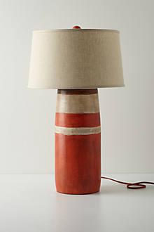 Red Boathouse Lamp Base