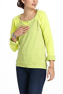 Raglan Scoopneck Sweatshirt