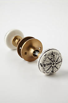 Compass Doorknob