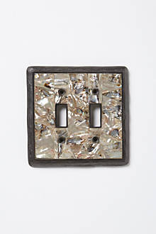 Mother-Of-Pearl Switchplate