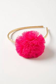 Tulle Pom Headband