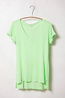 Rolled High-Low Tee
