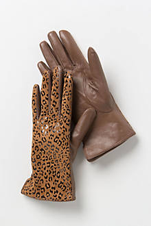Gigi Leopard Gloves