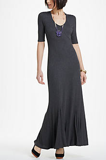 Godet Maxi Dress