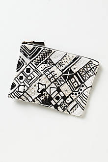 Sequined Soukie Pouch
