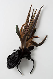 Falcon Feather Fascinator