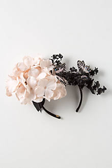 Flighty Hydrangea Fascinator