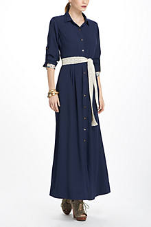 Jolette Maxi Shirtdress