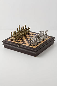 Natural Kingdom Chess Set