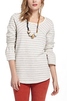 Bell-Sleeve Pullover